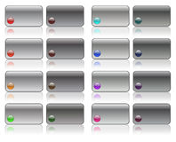 Hi-Fi buttons Stock Images