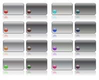 Hi-Fi buttons Stock Images