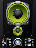 Hi-fi control deck Stock Photography