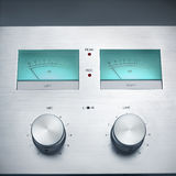 Hi-fi controls. Retro Hi-Fidelity  recorder controls Royalty Free Stock Images