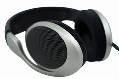 Hi-fi headphones Stock Image