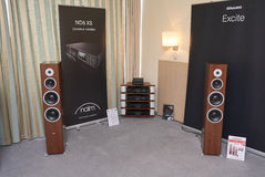 Hi Fi and High End Show in Moscow Stock Images