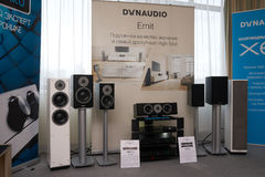 Hi Fi and High End Show in Moscow Royalty Free Stock Images