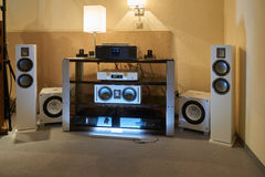 Hi Fi and High End Show in Moscow Stock Image