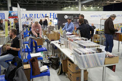 Hi Fi and High End Show in Moscow Royalty Free Stock Photo