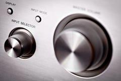 Hi-fi knobs Stock Images