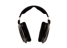 Hi-fi musical headphones Stock Photo