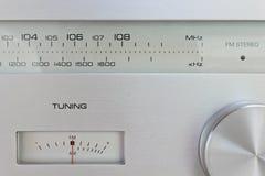 Hi-Fi Radio Tuner Stock Image