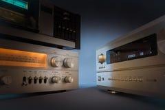 Hi-Fi receivers in studio Stock Images