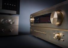 Hi-Fi receivers in studio Royalty Free Stock Photos
