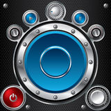 Hi fi set with speaker Stock Images