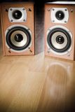 Hi-Fi Speakers Royalty Free Stock Image