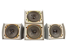 Hi fi speakers Royalty Free Stock Photography