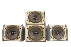 Hi fi speakers Royalty Free Stock Photography