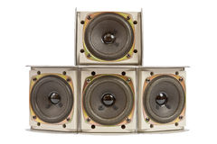 Hi fi speakers Stock Photo