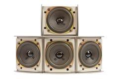 Hi fi speakers Stock Photo