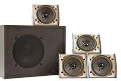 Hi fi speakers Stock Image