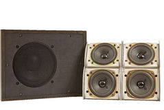 Hi fi speakers Stock Photos