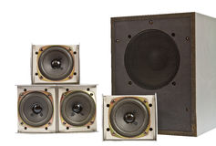 Hi fi speakers Stock Photography