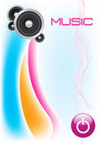 HI-FI Stereo Speaker Background -EPS Vector- Stock Images
