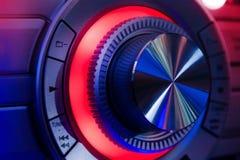 Hi-Fi Stereo wheel Stock Photo