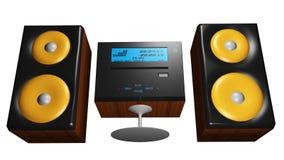 Hi-fi system Royalty Free Stock Image