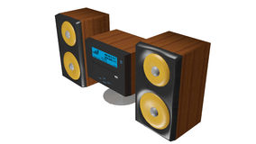 Hi-fi system2 Royalty Free Stock Photography