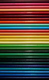 Hi gloss colored pencils Royalty Free Stock Photos