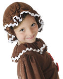 Hi!  I'm a Gingerbread Girl Royalty Free Stock Image