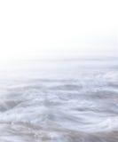 Hi-Key Swirling Ocean Stock Photography
