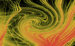 Hi res abstract illustration Royalty Free Stock Images
