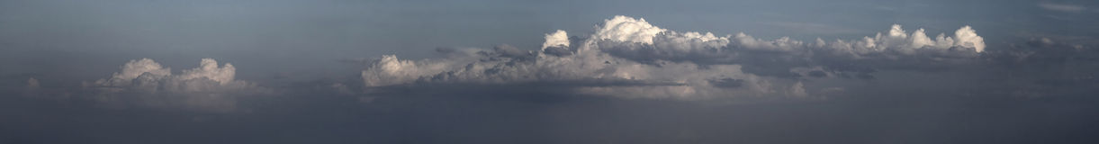 Hi-Res Clouds Panorama Stock Photos