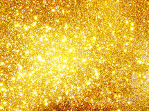 Hi-res golden background Stock Photography