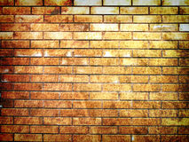 Hi-res grunge brick wall background Stock Image
