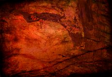 Hi-Res Grunge Tree. Abstract Background Stock Photography