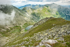Hi-res panorama of Retezat Mountains, Romania Stock Photos