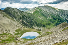 Hi-res panorama of Retezat Mountains, Romania Royalty Free Stock Photo
