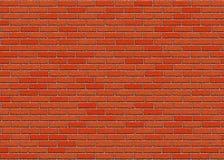 Hi-res red brick wall pattern Royalty Free Stock Photos