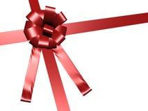 Hi res red ribbon Stock Images