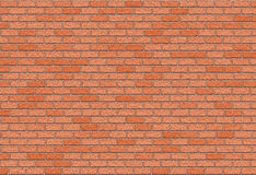 Hi-res red small brick wall pattern Royalty Free Stock Image