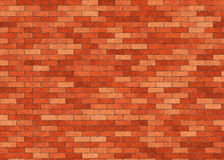 Hi-res red small brick wall pattern Stock Photos