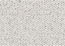 Hi-res red small brick wall pattern with noise texture Stock Photos