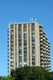 Hi-rise apartment building Stock Image