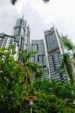 Hi-rise building façade Royalty Free Stock Images