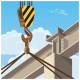 Hi rise construction Royalty Free Stock Photo