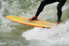 Hi-speed Surfing Sport Stock Image