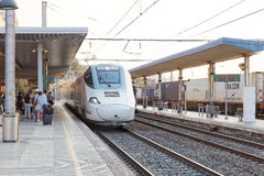 Hi-Speed Train Royalty Free Stock Images