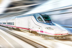 Hi-Speed  Train. Royalty Free Stock Photography