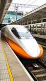 Hi Speed Train Royalty Free Stock Photo
