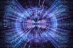 Free Hi-tech Abstract Background. Royalty Free Stock Photo - 117831765